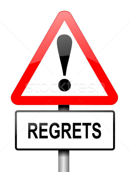 Regrets concept. Stock photo © 72soul