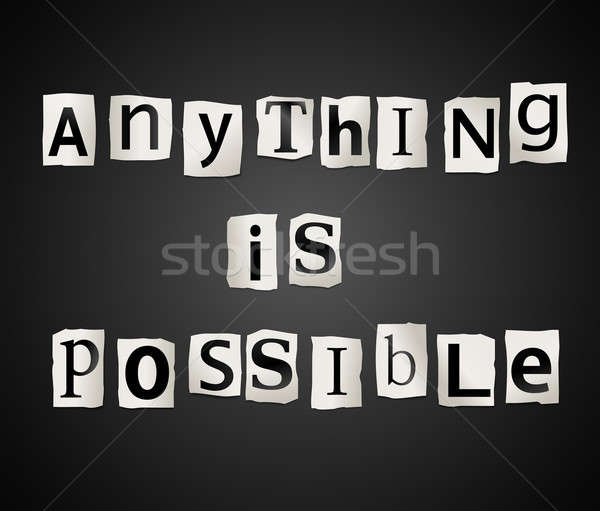 Anything is possible. Stock photo © 72soul