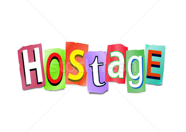 Hostage concept. Stock photo © 72soul