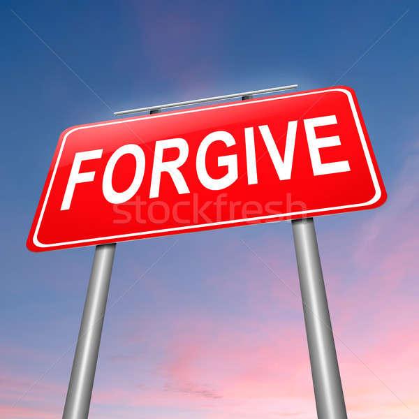 Forgive concept. Stock photo © 72soul