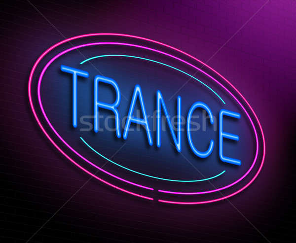 Trans örnek neon müzik gece Stok fotoğraf © 72soul
