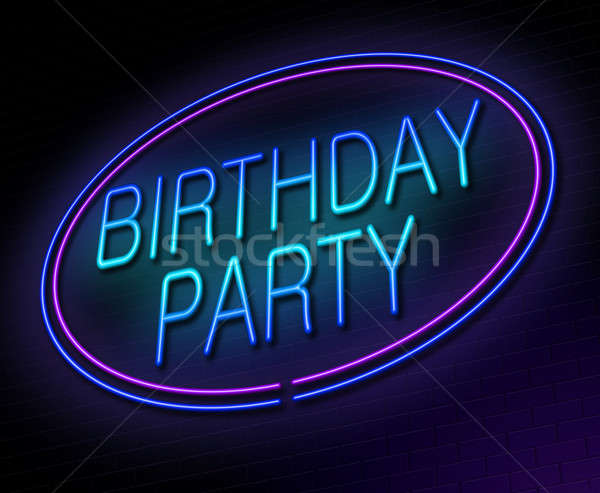 Birthday party concept. Stock photo © 72soul