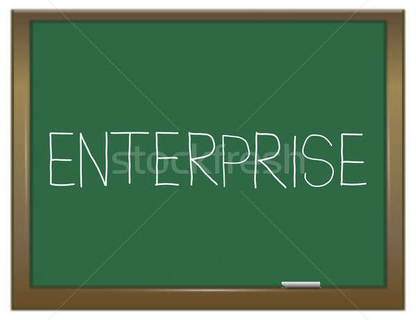 Enterprise concept. Stock photo © 72soul