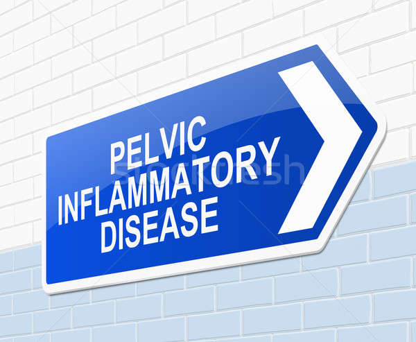 Pelvic inflammatory disease concept. Stock photo © 72soul