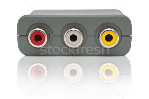 Scart adapter outlets Stock photo © 72soul