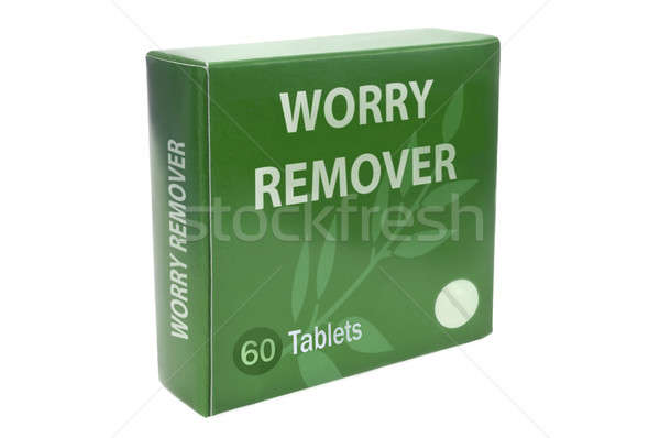 Cure for worry concept. Stock photo © 72soul