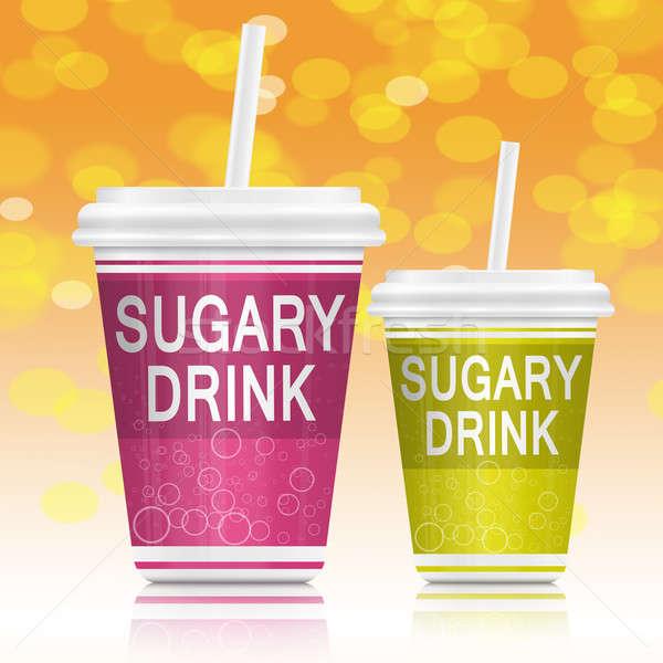 Sugary drinks. Stock photo © 72soul