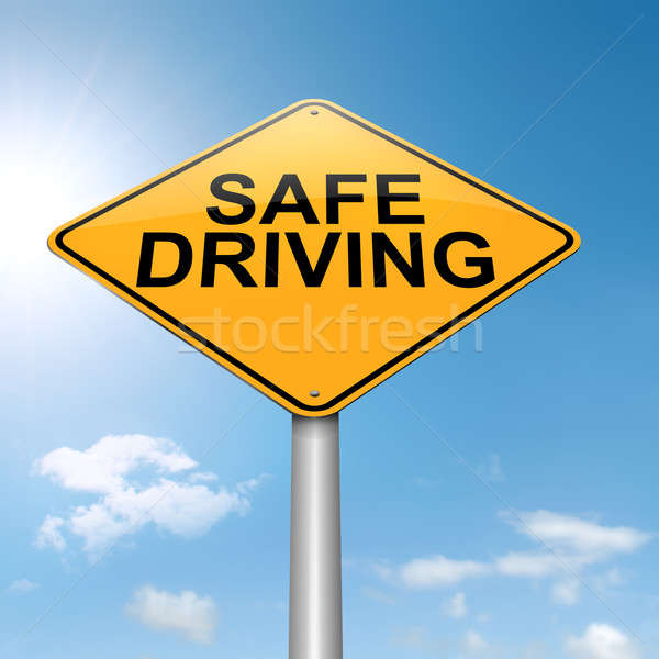 Safe driving concept. Stock photo © 72soul