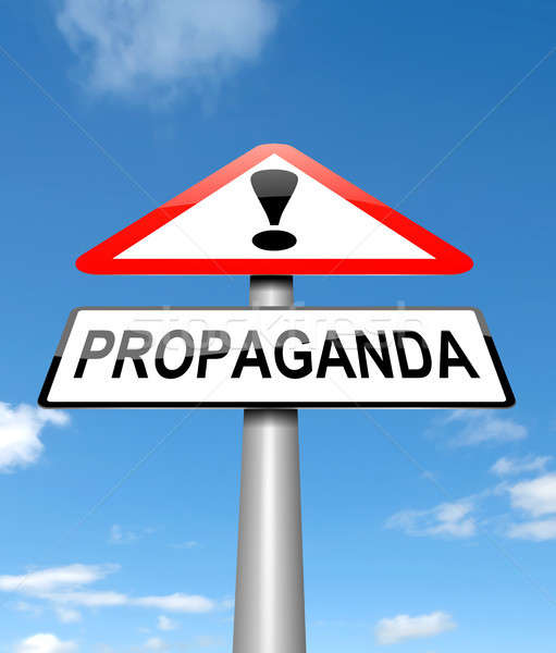 Propaganda concept. Stock photo © 72soul