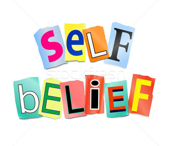 Self belief concept. Stock photo © 72soul