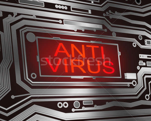 Antivirus concept. Stock photo © 72soul