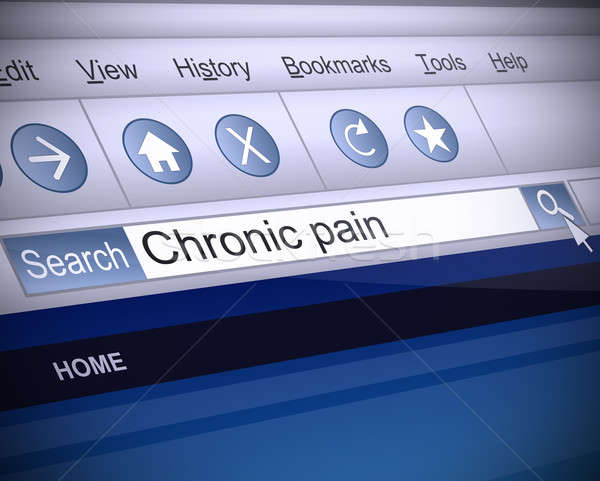 痛み 実例 スクリーンショット インターネット 検索 コンピュータ ストックフォト © 72soul