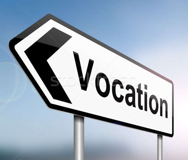 Vocation concept. Stock photo © 72soul