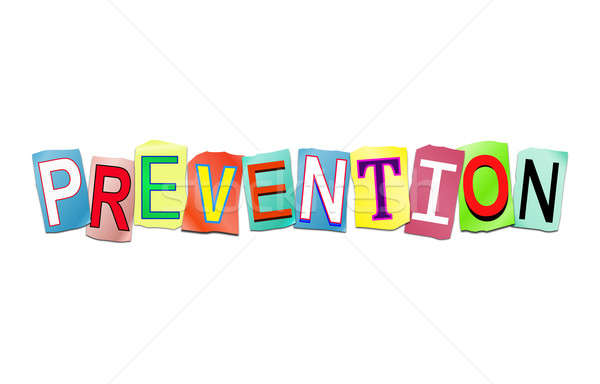 Prevention word concept. Stock photo © 72soul