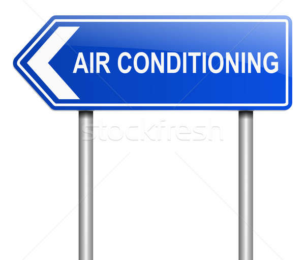 Air conditioning concept. Stock photo © 72soul