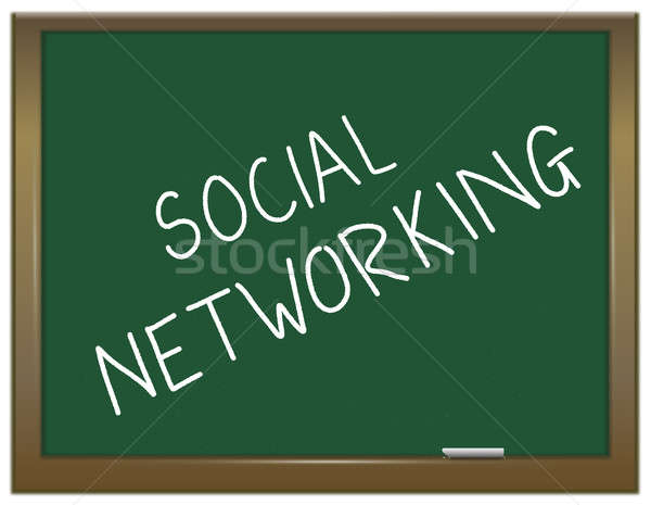 Social Networking concept. Stock photo © 72soul