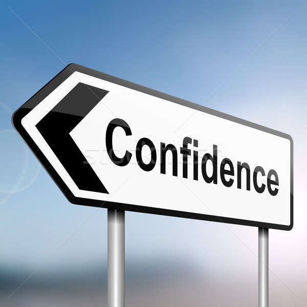 Confidence concept. Stock photo © 72soul