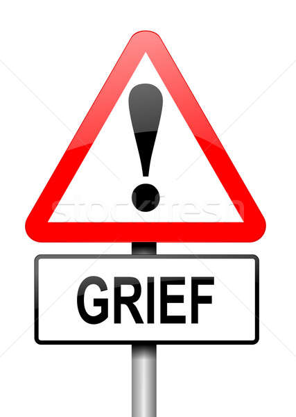 Stock photo: Grief concept.