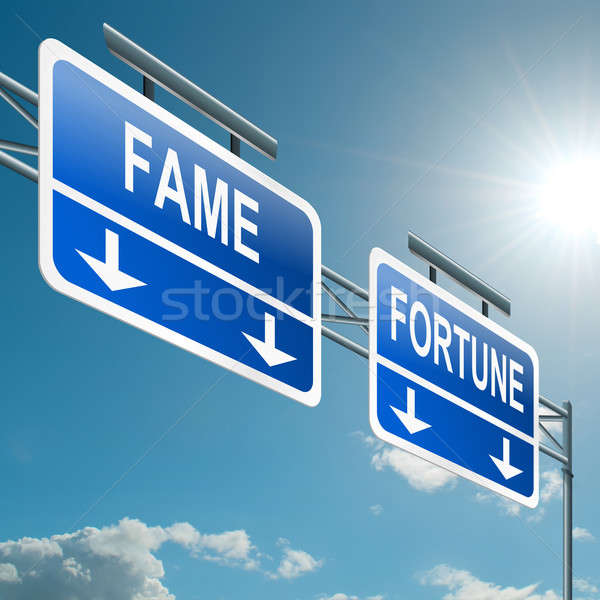 Fame and fortune concept. Stock photo © 72soul