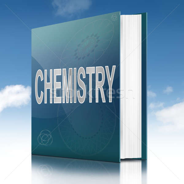 Stock photo: Chemistry text book.