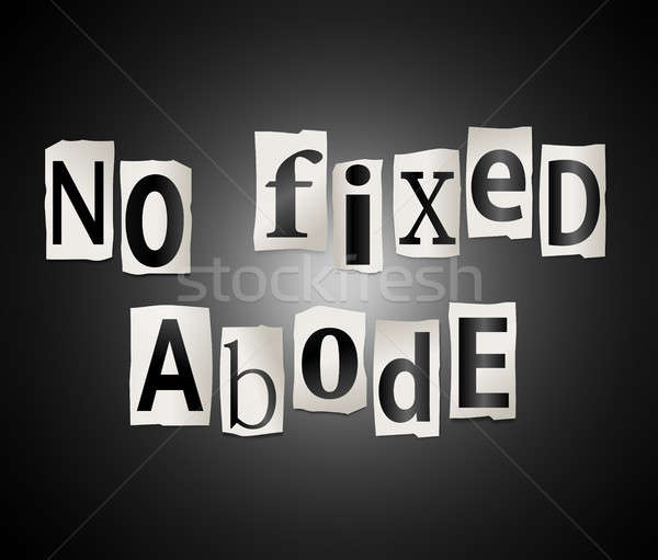 No fixed abode. Stock photo © 72soul