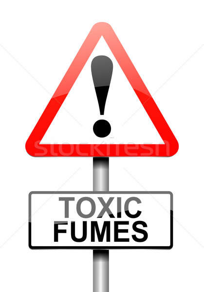 Toxic fumes concept. Stock photo © 72soul