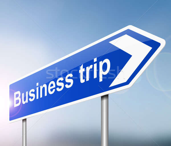 Business trip concept. Stock fotó © 72soul