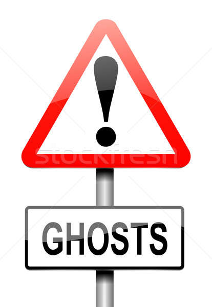 Ghost concept. Stock photo © 72soul