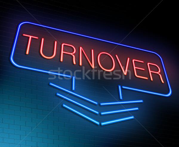 Turnover concept. Stock photo © 72soul