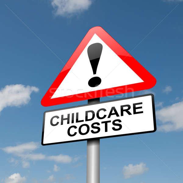 Childcare concept. Stock photo © 72soul