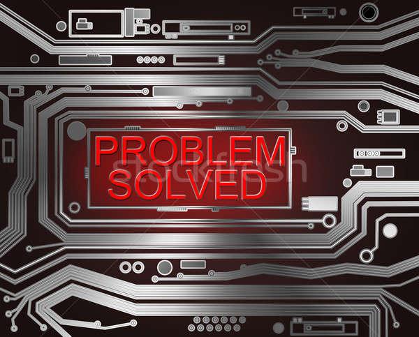 Problem solved concept. Stock photo © 72soul