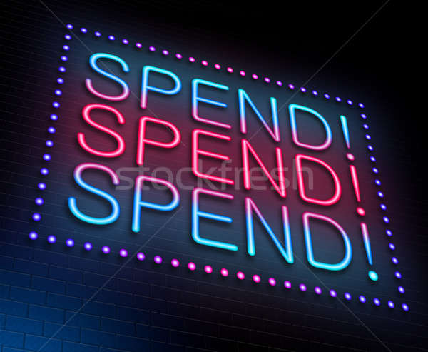 Spend concept. Stock photo © 72soul