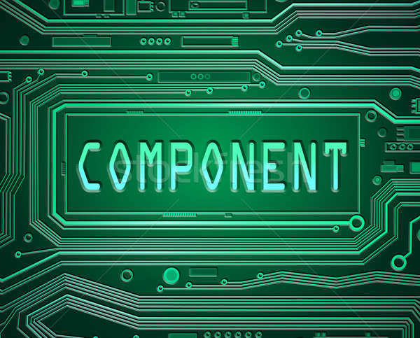 Components concept. Stock photo © 72soul