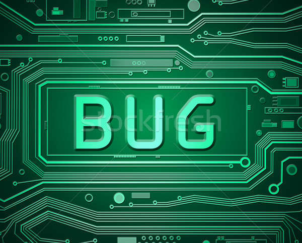 Computer bug concept. Stock photo © 72soul