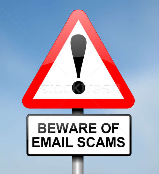 Email scam concept. Stock photo © 72soul