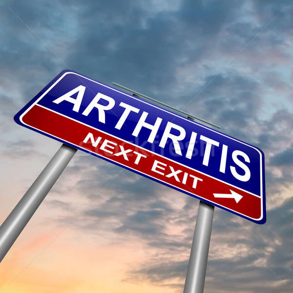 Arthritis concept. Stock photo © 72soul