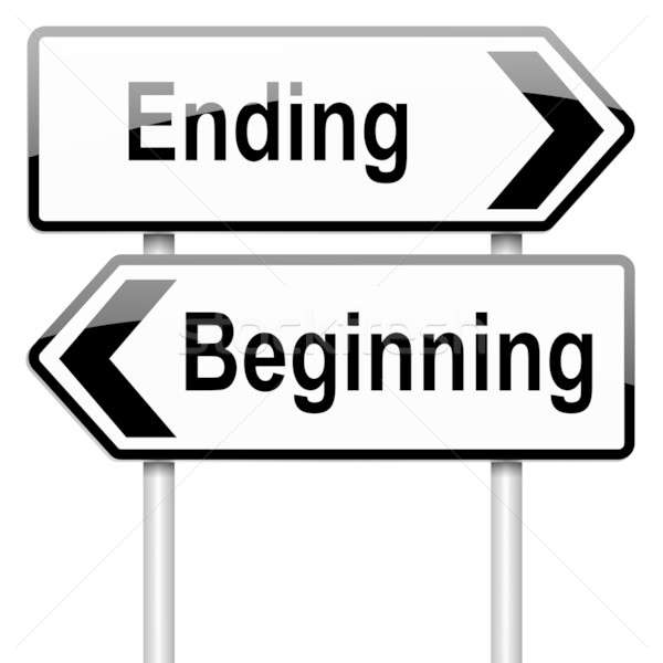 Begin or end. Stock photo © 72soul
