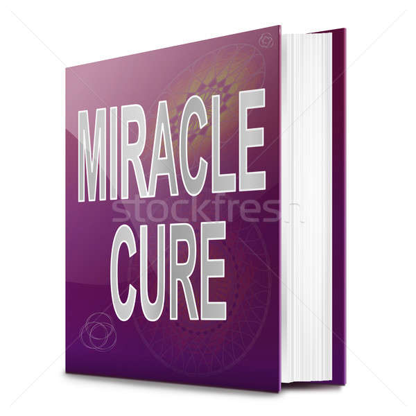 Miracle cure concept. Stock photo © 72soul