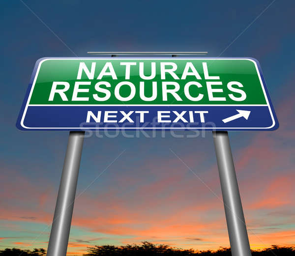 Natural resources concept. Stock photo © 72soul