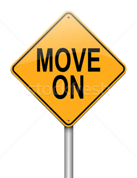 Move on concept. Stock photo © 72soul