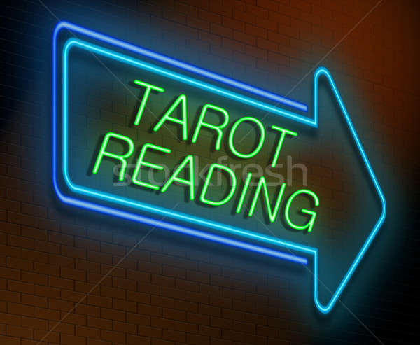 Tarot reading concept. Stock photo © 72soul