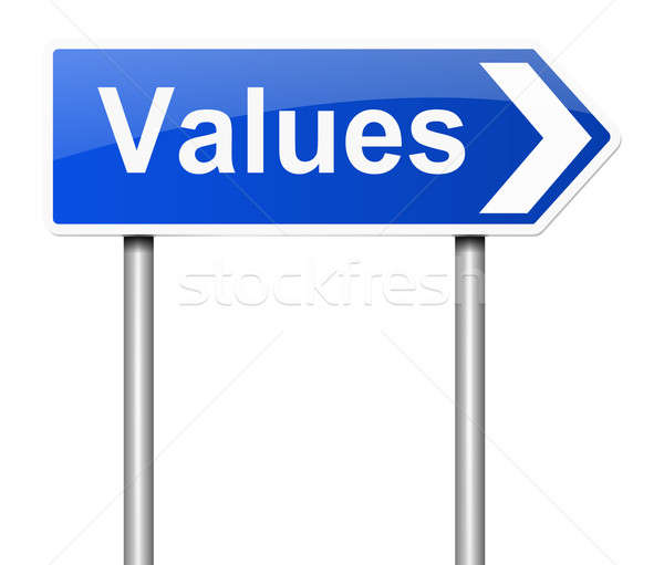 Values concept. Stock photo © 72soul