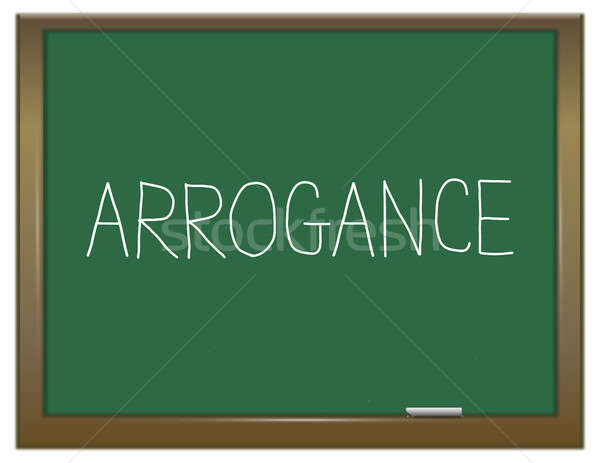 Arrogance word concept. Stock photo © 72soul