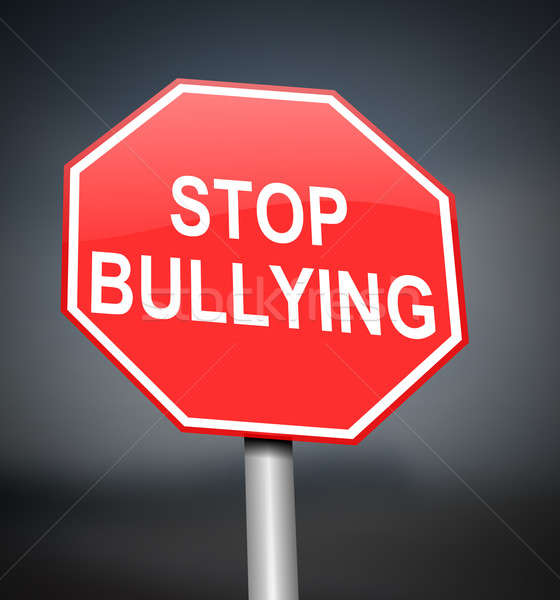 Stop bullying sign. Stock photo © 72soul