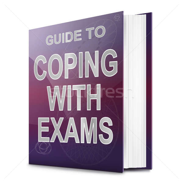 Coping with exams. Stock photo © 72soul