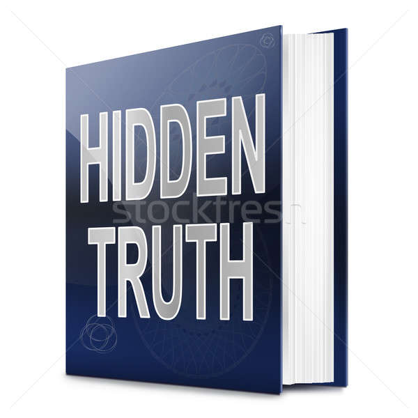 Hidden truth. Stock photo © 72soul
