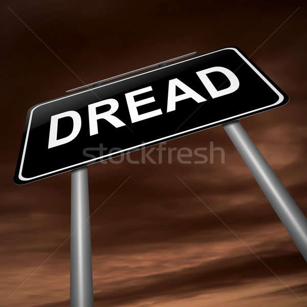 Dread concept. Stock photo © 72soul