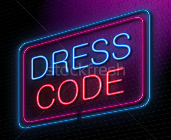 Dress code concept. Stock photo © 72soul