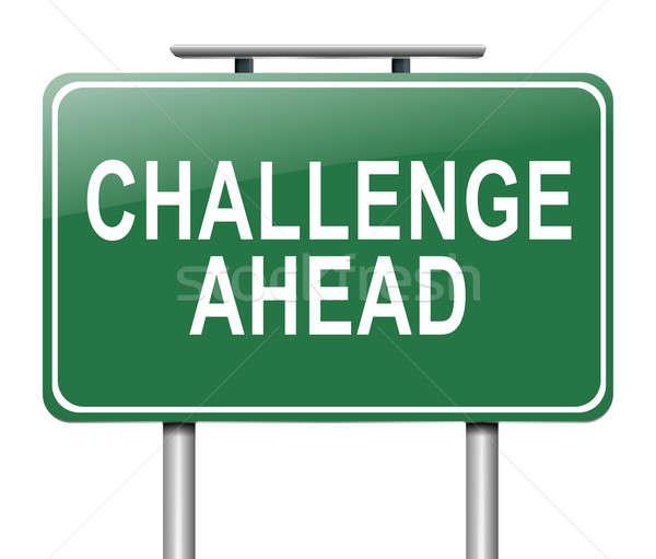 Challenge concept. Stock photo © 72soul