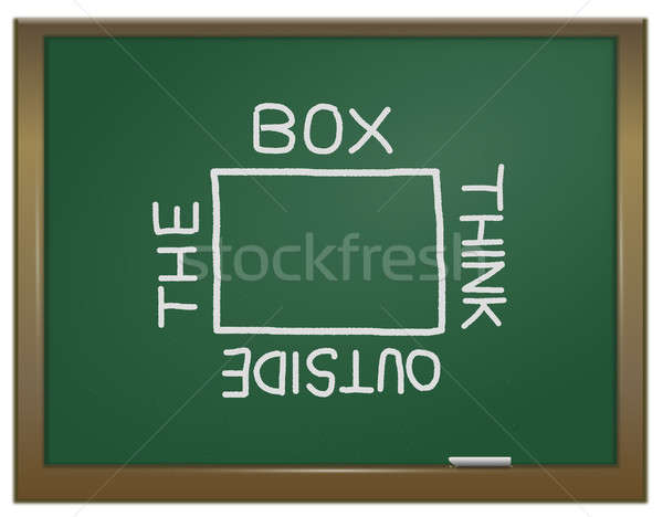 Think outside the box. Stock photo © 72soul